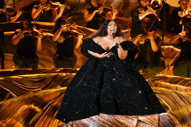Lizzo at the Grammys