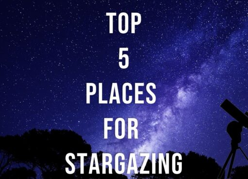 Top 5 places for stargazing